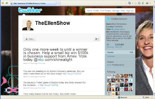 @TheEllenShow