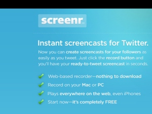 The Screenr Website
