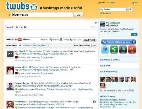 BlogEngage Twub Group